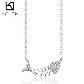 925 Sterling Silver Necklaces Pendants For Women
