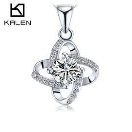 925 Sterling Silver Pendant Necklaces for Women